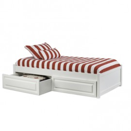 Platform Bed with Storage Drawers or Trundle
