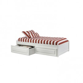 Atlantic Twin Platform Bed